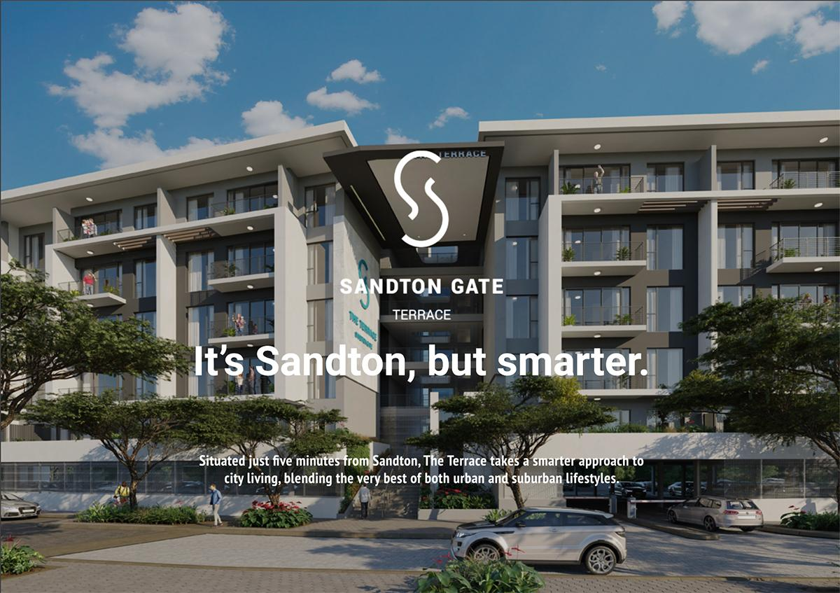 It's Sandton, but smarter.   Situated just five minutes from Sandton, The Terrace takes a smarter approach to city living, blending the very best of both urban and suburban lifestyles.
